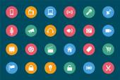 Web and Mobile Vector Icons 1 — Vector de stock