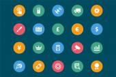 Web and Mobile Vector Icons 7 — Stock Vector