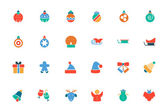 Christmas Colored Vector Icons 2 — Stock Vector