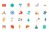 Medical Colored Vector Icons 3 — Stock Vector
