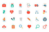 Medical Colored Vector Icons 1 — Vecteur