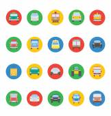 Transports Vector Icons 2 — Stock Vector