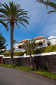 Hotel on the beach ( Tenerife) — Stock Photo
