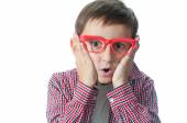Portrait of  young  boy. — Stock Photo