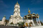 Orthodox church near the water source. Ukraine. — Stock Photo