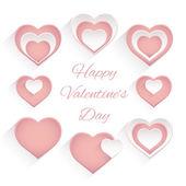 San valentino insieme. — Vettoriale Stock