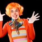 Clown girl. — Stock Photo #59109645