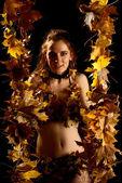 Autumn queen — Foto de Stock
