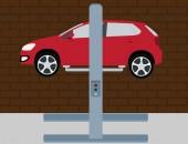 Car service — Stock Vector