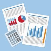 Report — Stock Vector