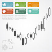 Forex infographic — Stock Vector