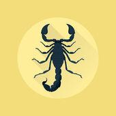 Скорпион — Cтоковый вектор