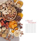 Noci e frutta secca — Foto Stock