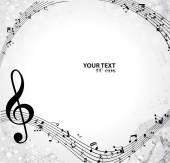 Fond musical — Vecteur