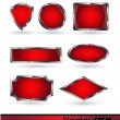 Set glossy volume download button icon. — Vector de stock  #60152113