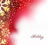 Beautiful snowflake Christmas background — Stock Vector