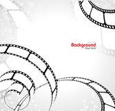 Plano de fundo do filme — Vetor de Stock