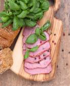 Sirloin of pork with herbs — Stockfoto