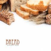Crusty fresh bread — Stock Photo
