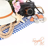 Summer vacation setting — Stock Photo
