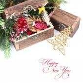 Christmas background. — Stock Photo