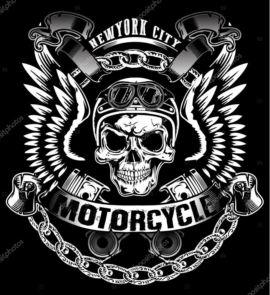 skeleton motorcycle live wallpaper