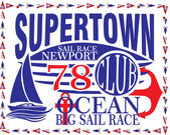 Nautical Design Sailor vector set Hand drawing T-shirt Printing Badge Applique Label — Stock Vector