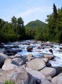Alaskan River — Foto Stock