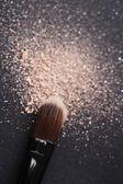 Compõem a escova — Fotografia Stock