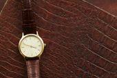 Luxury men's watch — Stock Photo