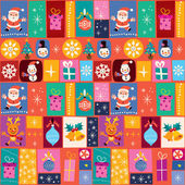 Merry Christmas pattern — Stock Vector