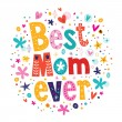 Happy Mothers Day card — Stock Vector #58890171