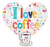 コーヒー ラブカードします。 — ストックベクタ