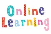 Online learning text — Vecteur