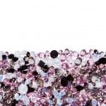 Purple diamond jewel stones luxury isolated on white — Stock Photo #62341755