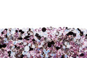 Purple diamond jewel stones luxury isolated on white — Stock Photo