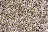 Horizontal gravel texture from quartz stones. — Stock Photo