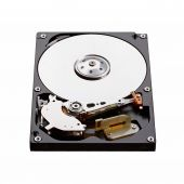 Real open hard drive isolated on white. — Stock Photo