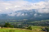 Panorama de montagnes — Photo