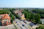 View of the city (Giżycko) — Stock Photo