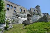 Castle in Poland (Ogrodzieniec) — Stock Photo
