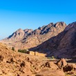 Monastery of St. Catherine and mountains near of Moses mountain, Sinai Egypt — Stock Photo #58614099