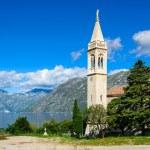 Little town at the coast of Boka Kotor bay (Boka Kotorska), Montenegro, Europe. — Stock Photo #62274931