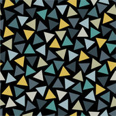 Triangles seamless pattern — Stock Vector