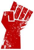 кулак сопротивления — Cтоковый вектор