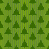 Xmas tree  seamless pattern — Vettoriale Stock