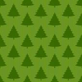 Xmas tree  seamless pattern — Stock Vector