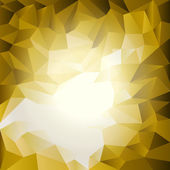 Triangles pattern yellow and white — Stockvektor