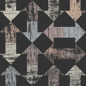 Arrows seamless pattern on dark grey — Vector de stock