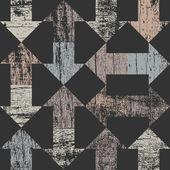 Arrows seamless pattern on dark grey — Stockvektor